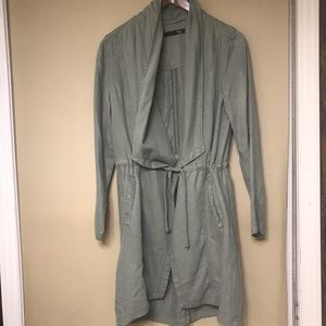 MAX Jeans waterfall duster coat
